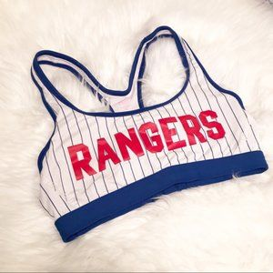 Rangers Baseball MLB VS Pink Sports Bra M